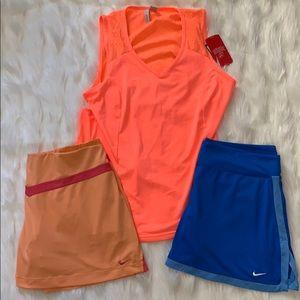 NIKE golf tennis skort shorts bundle DRI FIT